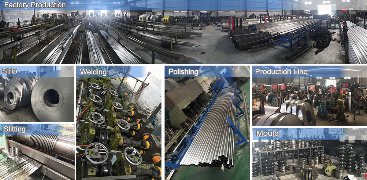 201 304 316L Stainless steel pipe