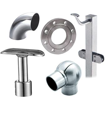 Stainless steel tube accessories