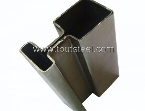 Stainless Steel 180 Degree Double Groove Tube
