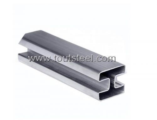 Stainless Steel 180 Degree Double Slot Tube
