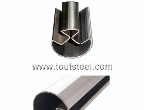 Stainless Steel Double Groove Tube