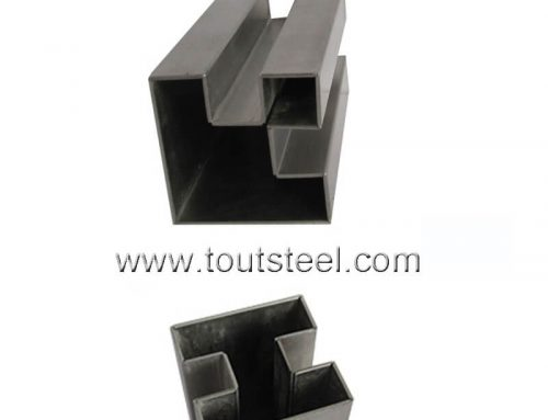 Stainless Steel Double Slot Tube
