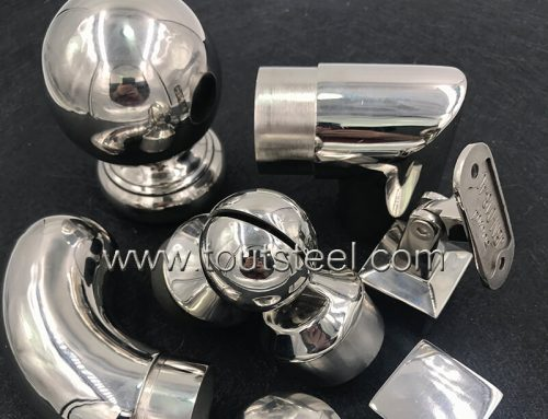 Stainless Steel Handrail Elbow