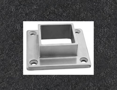 Stainless Steel Square Flange