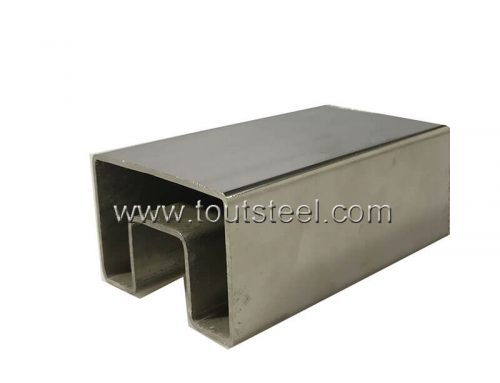 Stainless Steel Single Groove Tube