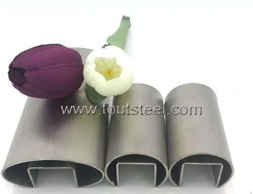 Stainless Steel Groove Tube
