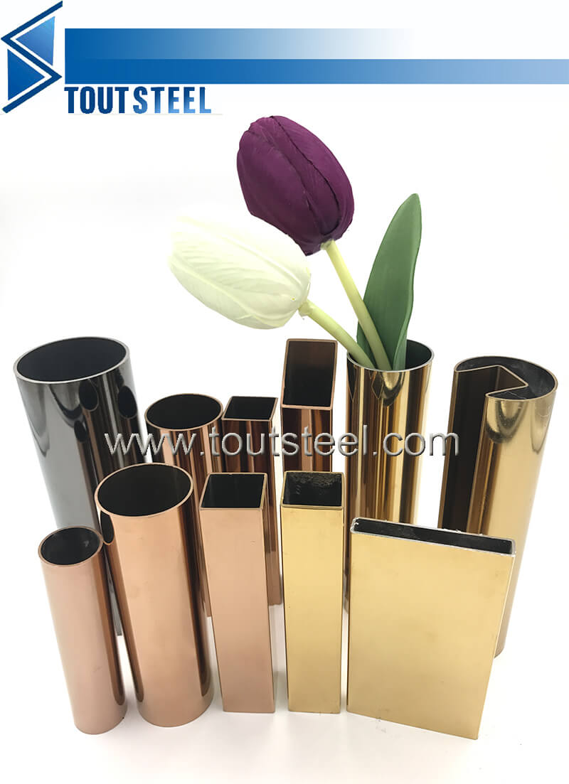 stainless steel color tube 006