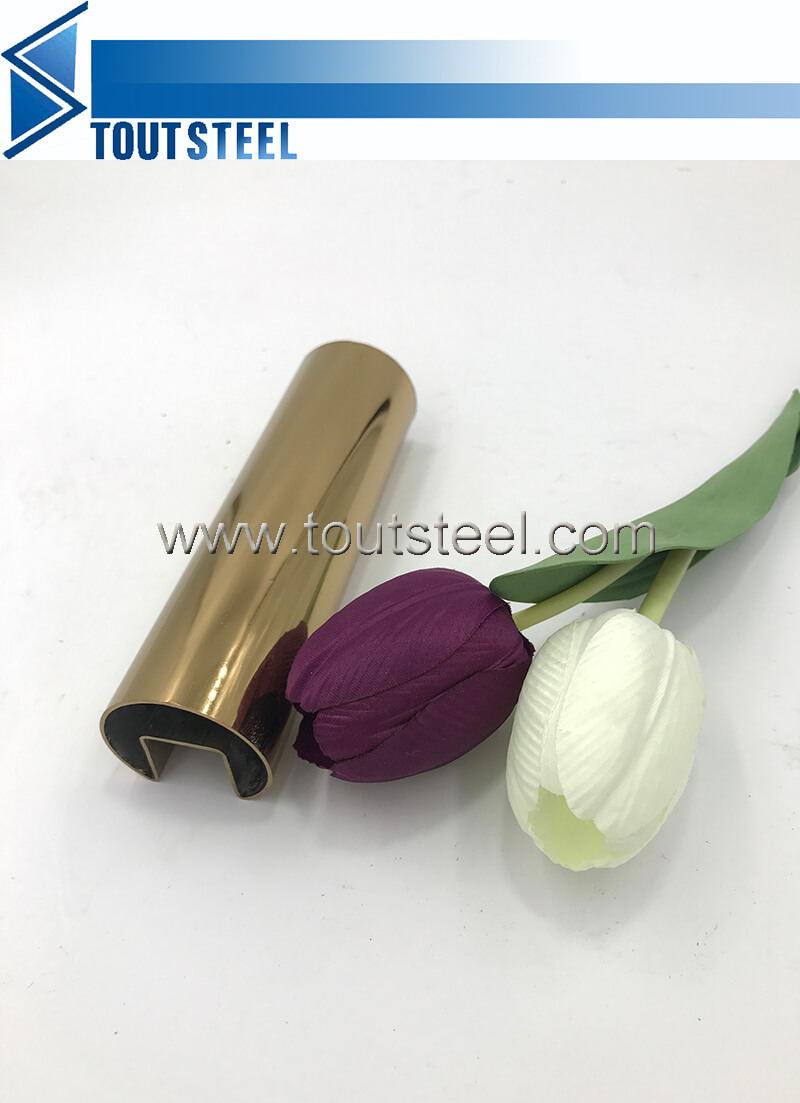 stainless steel color tube 042
