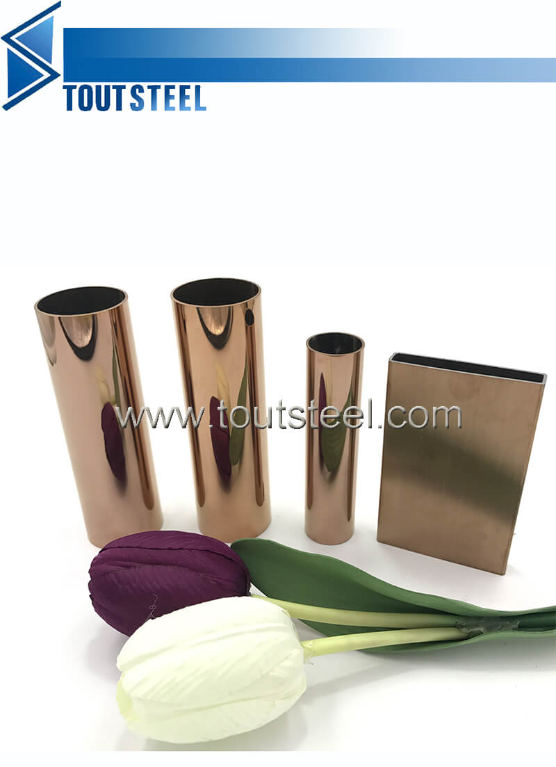 stainless steel color tube 047