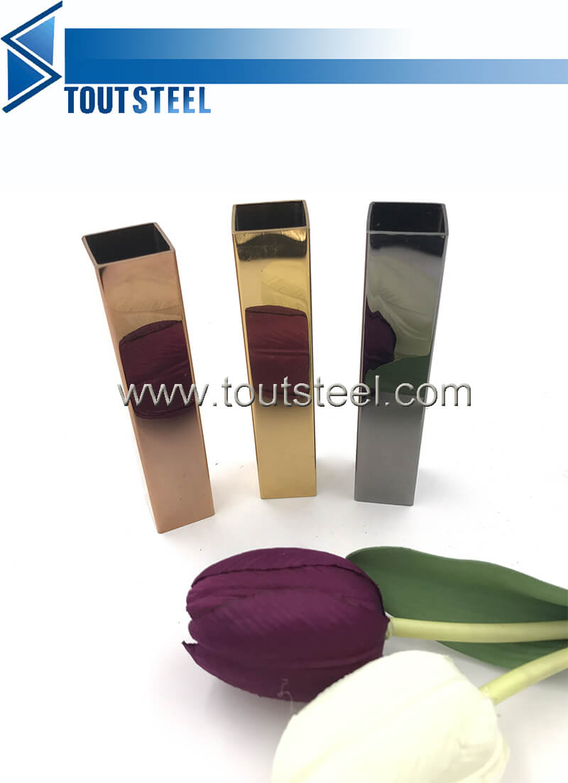 stainless steel color tube 052
