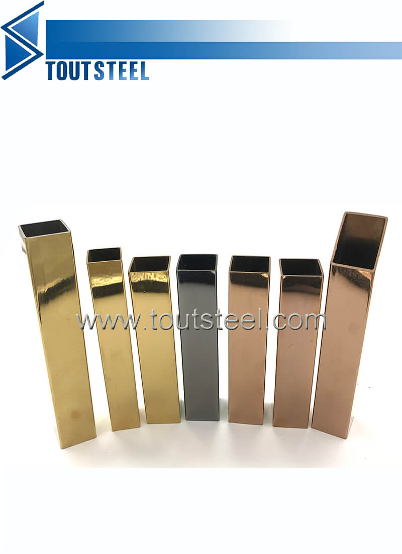 stainless steel color tube 056