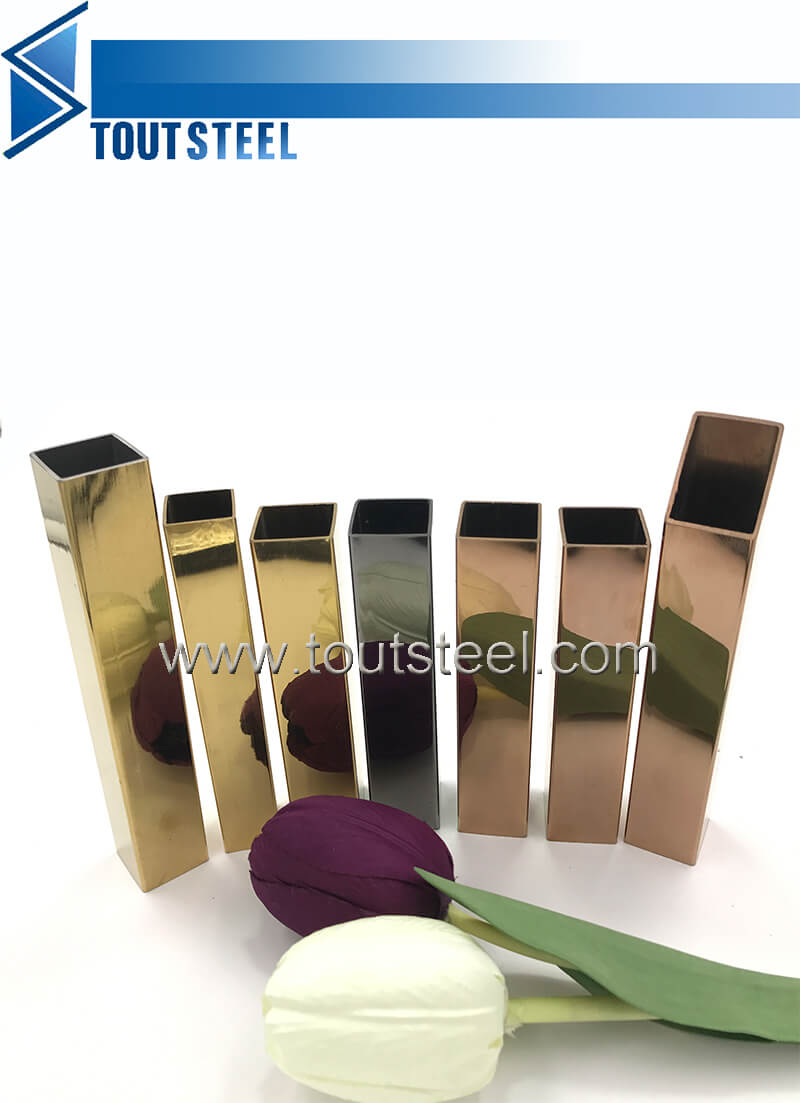stainless steel color tube 057