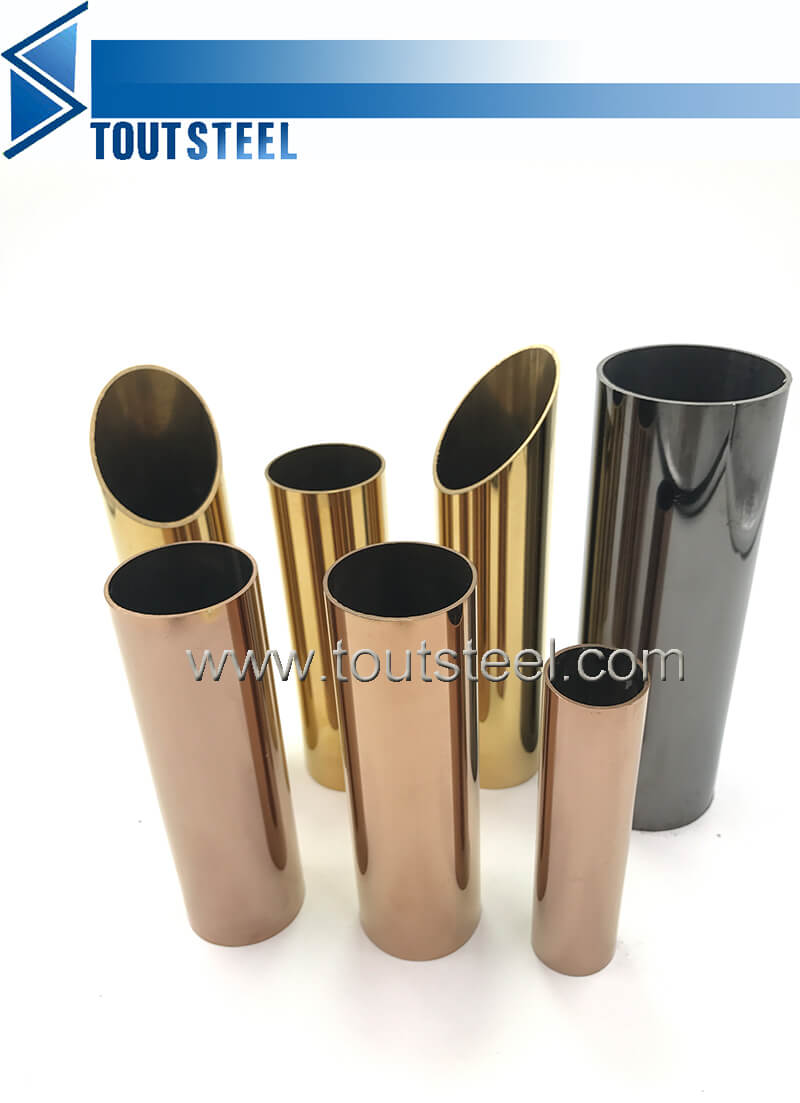 stainless steel color tube 065