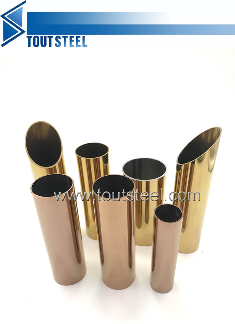 stainless steel color tube 068