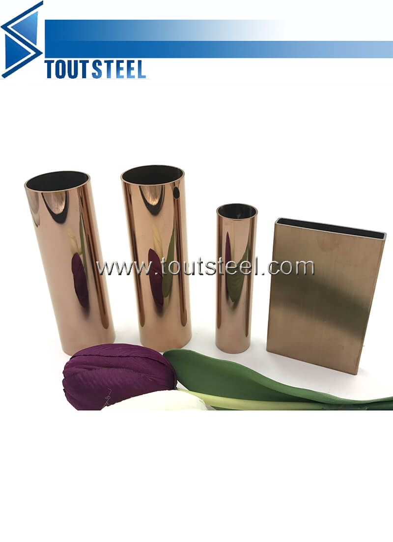 stainless steel color tube 102