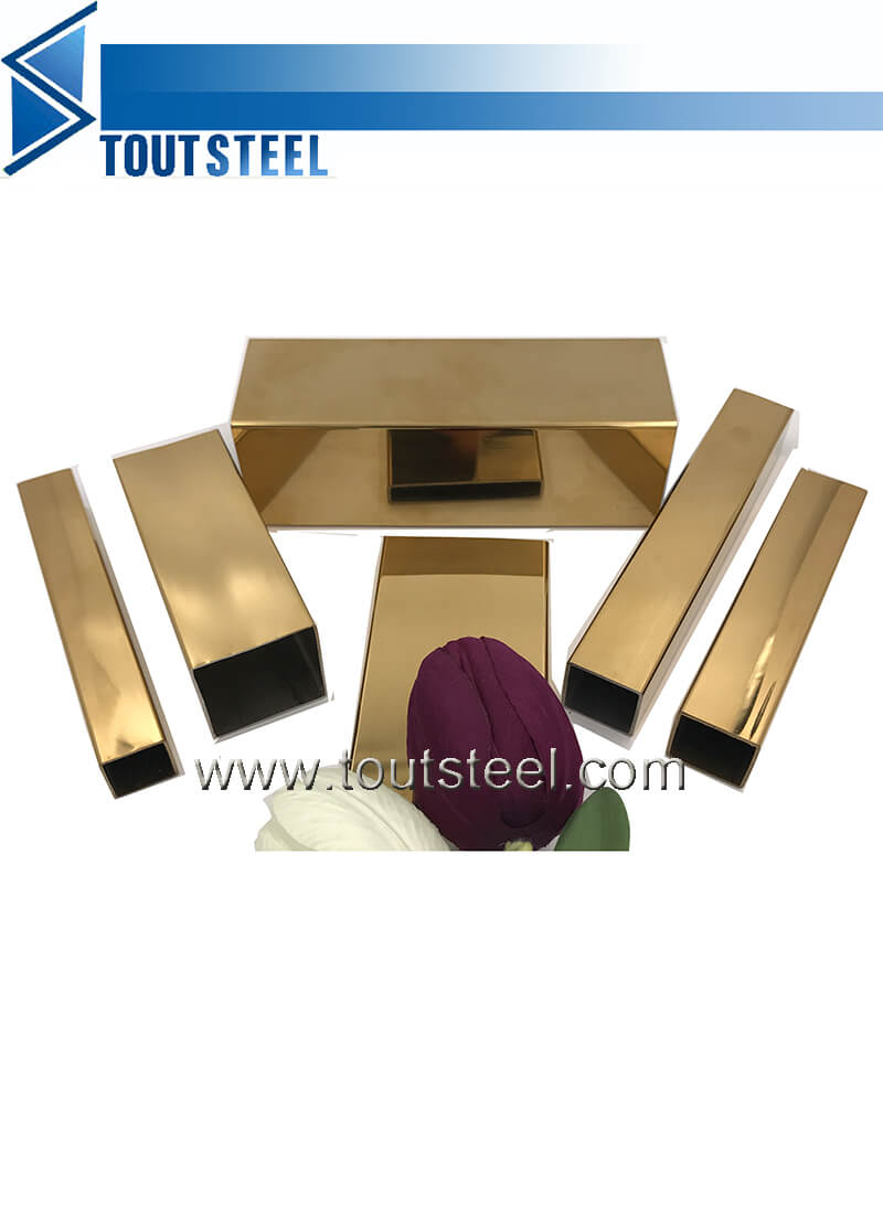 stainless steel color tube 108