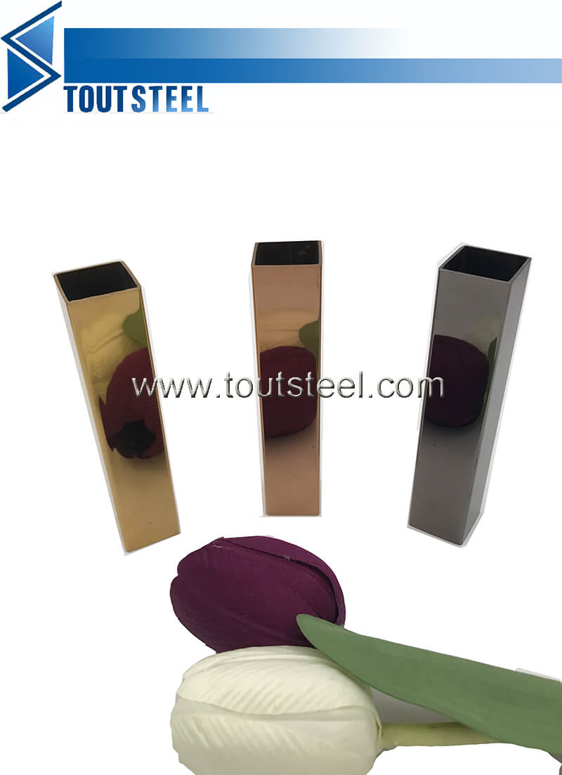 stainless steel color tube 112