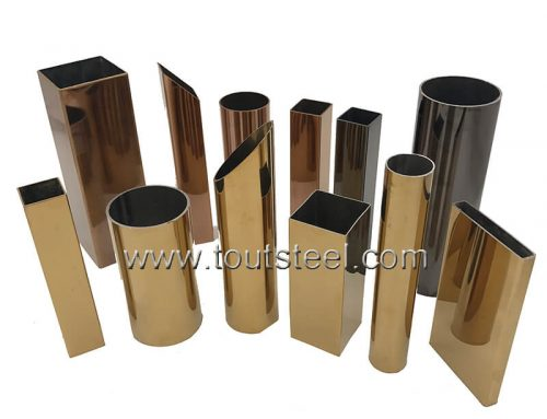Stainless Steel Brush Color Tube