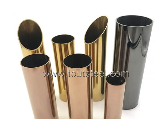 Stainless Steel Mirror Color Tube