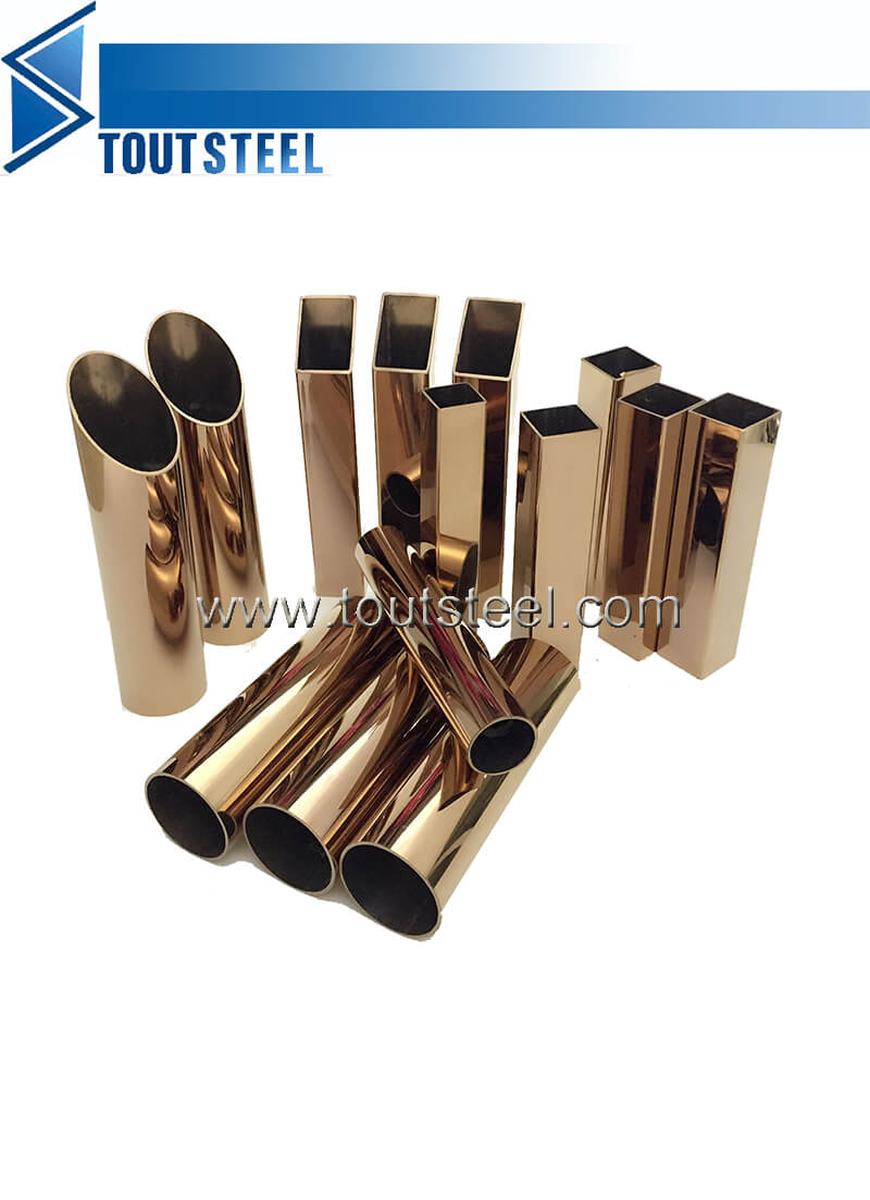 stainless steel color tube 90